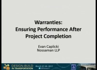 Warranties: Ensuring Performance After Project Completion