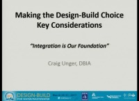 Making the Design-Build Choice - Key Considerations