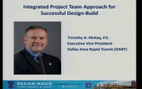 Dallas Area Rapid Transit (DART) Integrated Project Team Approach for Successful Design-Build
