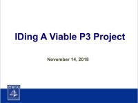 Identifying A Viable P3 Project: Key Public and Private Sector Considerations