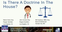 Is There a Doctrine in the House: 12 Legal Doctrines that Impact Design-Build