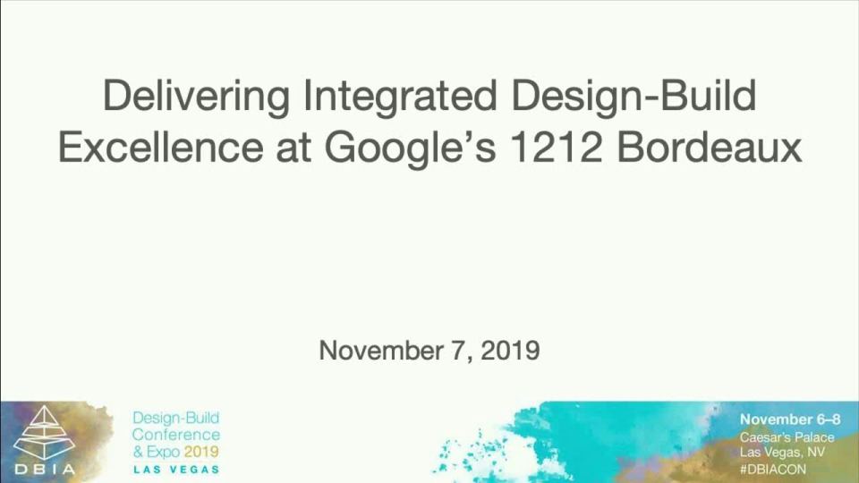 Delivering Integrated Design-Build Excellence at Google's 1212 Bordeaux