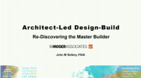 Architect-Led Design Build: An International and National Perspective