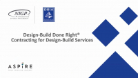Design-Build Done Right® – Contracting for Design-Build Services