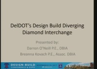 DelDOT's Design-Build Diverging Diamond Interchange