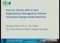 How an Owner with Lean Organization Managed to Pioneer Innovative Design-Build Solutions