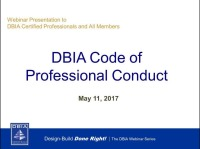Understanding the New DBIA Code of Conduct
