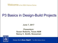 P3 Basics in Design-Build Projects