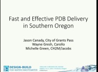 Fast and Effective Progressive Design-Build Delivery in Southern Oregon