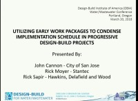 Utilizing Early Work Packages to Condense Implementation Schedule in Progressive Design-Build Projects