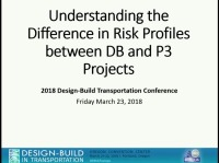 Understanding the Difference in Risk Profiles between Design-Bid-Build, Design-Build and P3 Projects