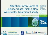 Attention! Army Corps of Engineers Fast Tracks a New Wastewater Facility