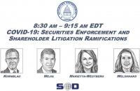 COVID-19: Securities Enforcement and Shareholder Litigation Ramifications