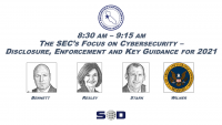 The SEC's Focus on Cybersecurity – Disclosure, Enforcement and Key Guidance for 2021 icon