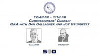 Commissioners' Corner: Q&A with Dan Gallagher and Joe Grundfest icon