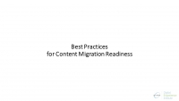 Best Practices for Content Migration Readiness