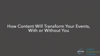 DEI: How Content Will Transform Your Events, With or Without You