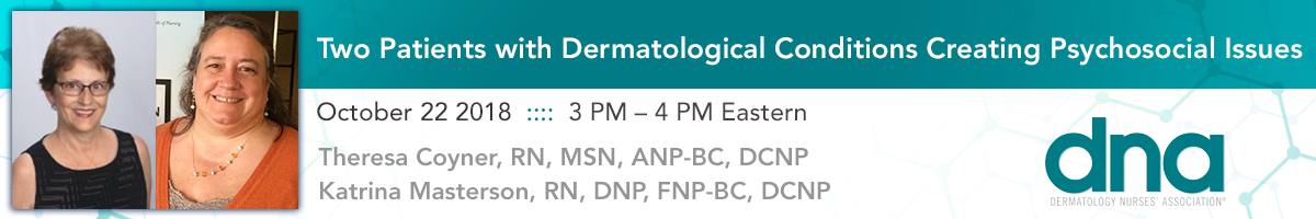 Two Patients with Dermatological Conditions Creating Psychosocial Issues