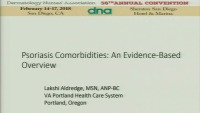 Psoriasis Comorbidities:  An Evidence-Based Overview