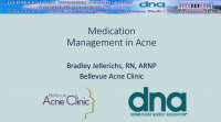 Medication Management in Acne