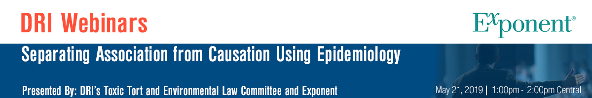 Separating Association from Causation Using Epidemiology