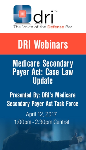 Medicare Secondary Payer Act: Case Law Update - Non-Members Package