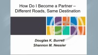 How Do I Become a Partner? Different Roads, Same Destination
