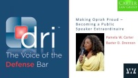 Making Oprah Proud - Becoming a Public Speaker Extraordinaire
