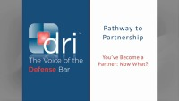 You've Become a Partner: Now What?