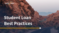 Student Loan Best Practices for DRI Members