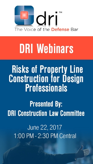 Risks of Property Line Construction for Design Professionals - Non-Member Package