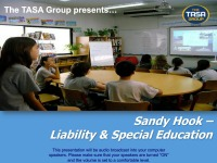 Sandy Hook- Liability & Special Education