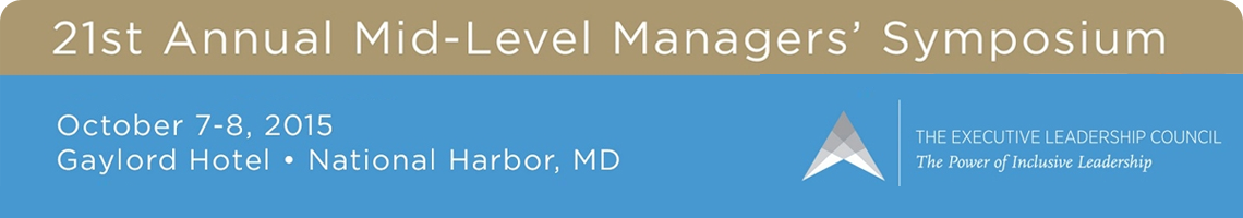 The Mid-Level Managers' Symposium