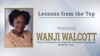 ​Lessons from the Top Featuring Wanji Walcott