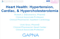 Heart Health: Hypertension, Cardiac, and Hypercholesterolemia