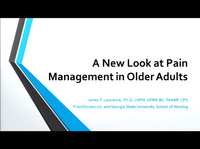 A New Look at Pain Management in Older Adults