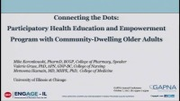 Connecting the Dots: Participatory Health Education and Empowerment Program with Community-Dwelling Older Adults