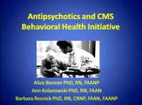 Antipsychotics and CMS Behavioral Health Initiative