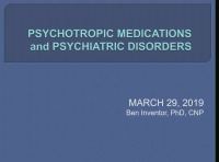 Psychotropic Medications and Psychiatric Disorders