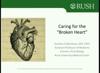 "Caring for the ""Broken Heart"""