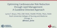 Optimizing Cardiovascular Risk Reduction through Lipid Management
