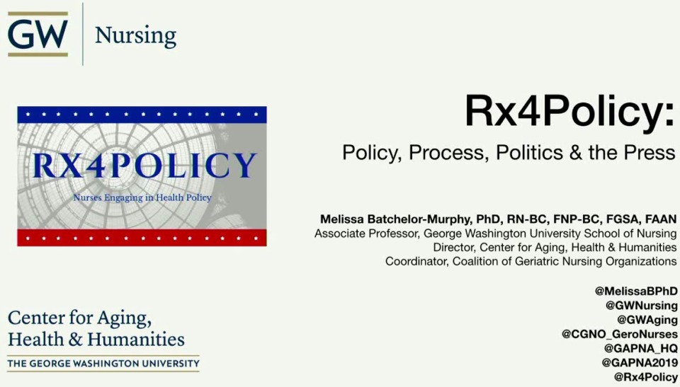 Rx4 Policy: Policy, Process, Politics, & The Press