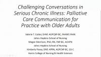Challenging Conversations in Serious Chronic Illness: Palliative Care Communication for Practice with Older Adults