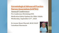 Medication Safety Updates for Older Adults