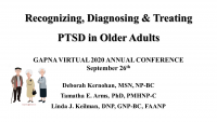 Recognizing, Diagnosing, and Treating PTSD in Older Adults