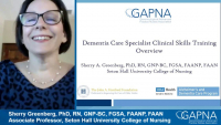 Dementia Care Specialists Clinical Skills Training - Day 1