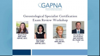 Gerontological Specialist Certification Exam Review Workshop – Day 1