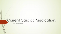 Current Cardiac Medications