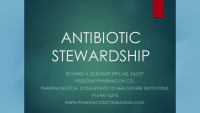 Antibiotic Stewardship and AGS Beers Criteria®