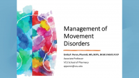 Management of Movement Disorders
